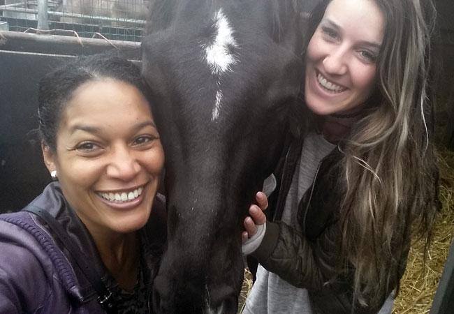 Marjori, paard Dio en Shelley