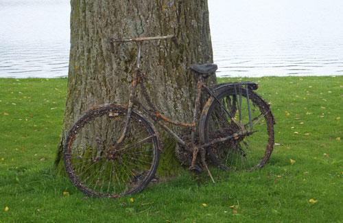 Gestolen fiets. Uit '40 - '45...?