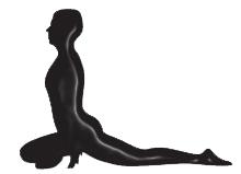 De duif, een yogahouding (asana) om de heupen sterk mee te openen - heupopener