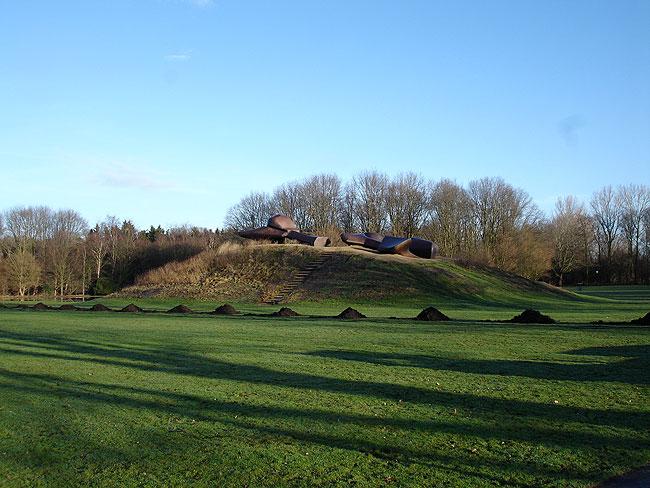 Afwatering Sloterpark (bij kunstwerk Groot Landschap)
