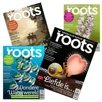 Roots magazine - midden in de natuur