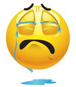 Teleurstelling - om te huilen...