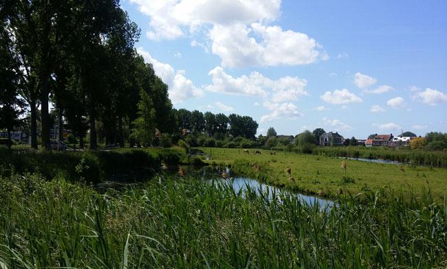 Rondom natuurpark Vrije Geer